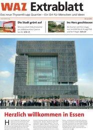 WAZ Extrablatt: Das neue ThyssenKrupp Quartier – Ein Ort für ...