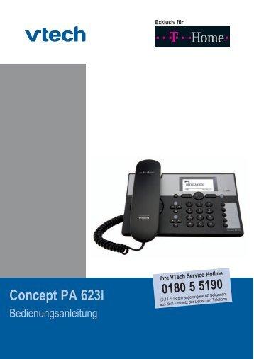 Concept PA 623i