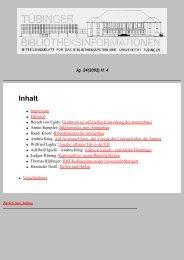 PDF 743kB - TOBIAS-lib - Universität Tübingen