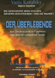Buch - Vatiu Koralsky - El Sobreviviente de Alemania en Llamas