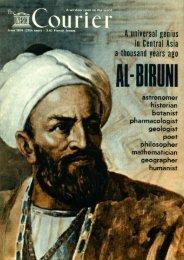 Al-Biruni, a universal genius in Central Asia a ... - unesdoc - Unesco