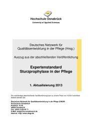 Expertenstandard Sturzprophylaxe in der Pflege - weidlichhahne.de