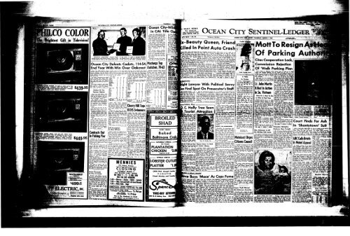 Co Colori On Line Newspaper Archives Of Ocean City