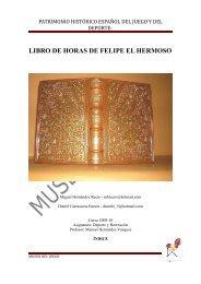Libro de Horas de Felipe el Hermoso (1505 - Museo del Juego