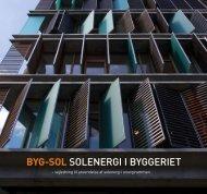 BYG-SOL SOLENERGI I BYGGERIET - Solar City Copenhagen