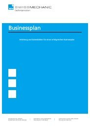 Businessplan [PDF, 253 KB] - Swissmechanic