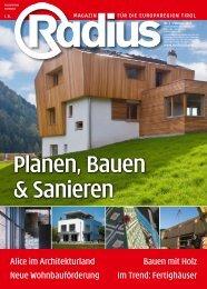Radius Bauen 2010