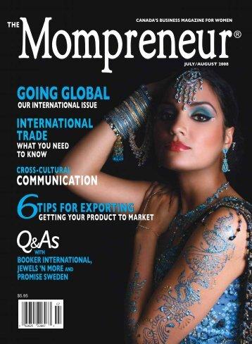 GOING GLOBAL GOING GLOBAL - The MOMpreneur