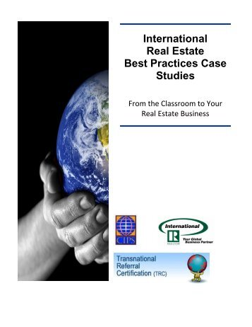 International Real Estate Best Practices Case Studies