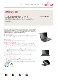 Datenblatt AMILO Notebook Li 3710
