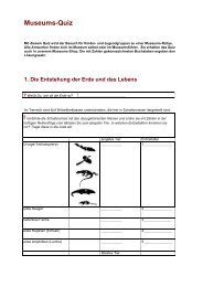 Museums-Quiz [PDF] - Urwelt-Museum Hauff