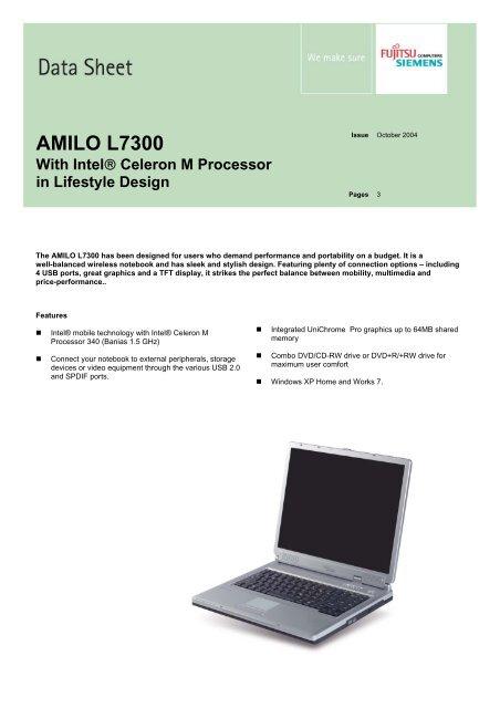 AMILO L7300 GRAPHICS DRIVERS DOWNLOAD