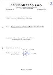 Projekt organizacji ruchu na czas budowy - Urząd Dzielnicy Praga ...