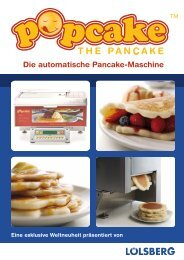 Die automatische Pancake-Maschine - loelsberg