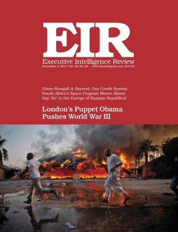 Enhanced PDF of full issue - Executive Intelligence Review