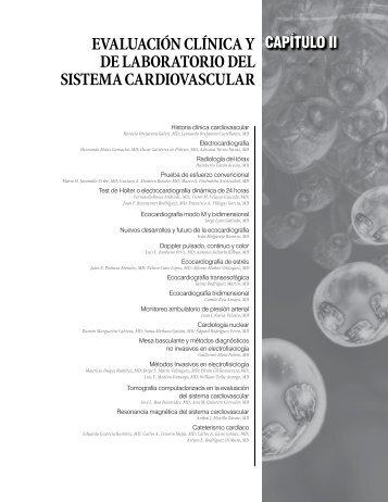 evaluación clínica y de laboratorio del sistema cardiovascular - Scc