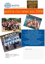 austria cisv news nov 2008