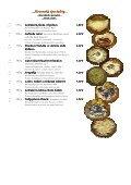Mária Penzion & Restaurant Restaurant Restaurant* Jedálny lístok ... - Seite 2
