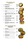 Mária Penzion & Restaurant Restaurant Restaurant* Jedálny lístok ... - Seite 3