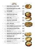 Mária Penzion & Restaurant Restaurant Restaurant* Jedálny lístok ... - Seite 4