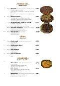 Mária Penzion & Restaurant Restaurant Restaurant* Jedálny lístok ... - Seite 5