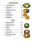 Mária Penzion & Restaurant Restaurant Restaurant* Jedálny lístok ... - Seite 6