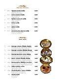 Mária Penzion & Restaurant Restaurant Restaurant* Jedálny lístok ... - Seite 7