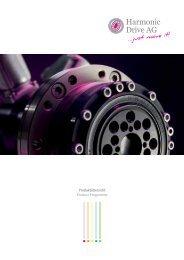 Produktübersicht - Präzision in Bewegung - Harmonic Drive AG