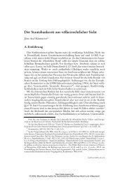 Der Staatsbankrott aus völkerrechtlicher Sicht - Zeitschrift für ...