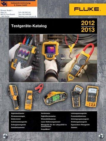 Fluke Wärmebildkameras 2012 / 2013 - Industrievertretung R ...