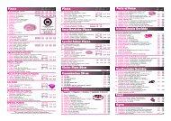 Pizzen Pasta Internationale Gerichte Mexikanische ... - PIZZA GOLD