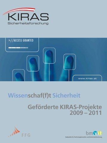 KIRAS Projekte 2009 - 2011