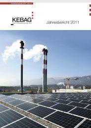 Jahresbericht 2011 - Kebag