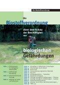 Die Biostoffverordnung - GBG 17.1 - LSV - Seite 2