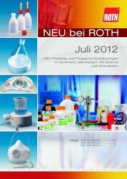 NEU bei ROTH - Carl Roth