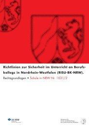 (RISU-BK-NRW). - Sichere Schule