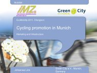 Cycling Promotion in Munich - EcoMobility Changwon 2011