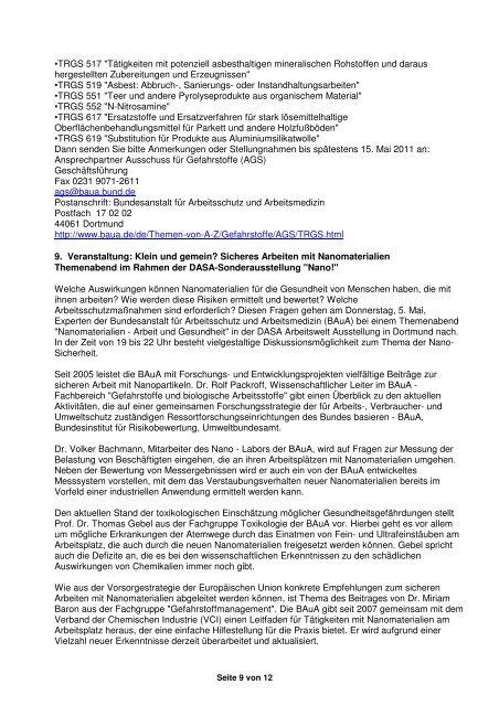 DGAH – Brief Nr. 88 April 2011 - Verband Deutscher Betriebs- und ...