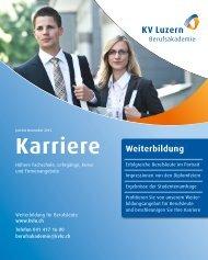Karriere - KV Luzern