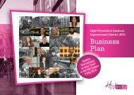 Business Plan - HWBIDCo