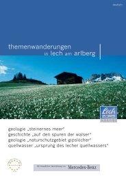 themenwanderungen in lech am arlberg - Tiscover