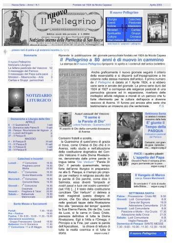 Aprile 2003 - pdf - Associazione Pro Loco F. Durante