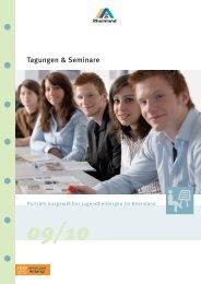 Tagungen & Seminare - Deutsches Jugendherbergswerk