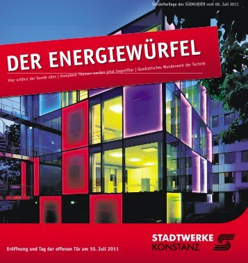 DER ENERGIEWÜRFEL - Naturschule Konstanz