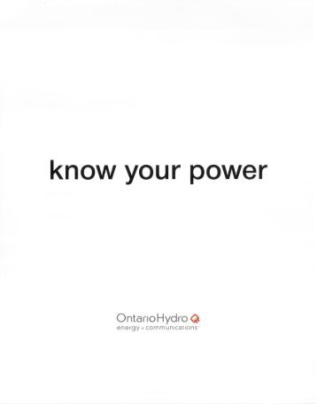 know your power - Hilton Barbour