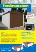 Fertiggaragen Carport Typ BMzehn Garten- und ... - Praktiker - Page 2