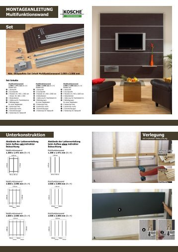ideefixe blitzschnell fertig kosche. Black Bedroom Furniture Sets. Home Design Ideas