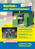 PDF Katalog von Fertiggaragen und Gartencontainer ... - Praktiker - Page 5