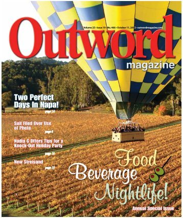 Two Perfect Days In Napa! - Outword Magazine