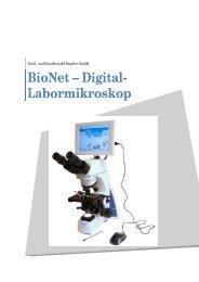BioNet – Digital- Labormikroskop - Mueller Optronic